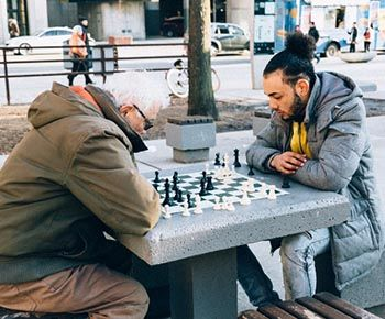 Enjoying Chess with a Senior (Small)